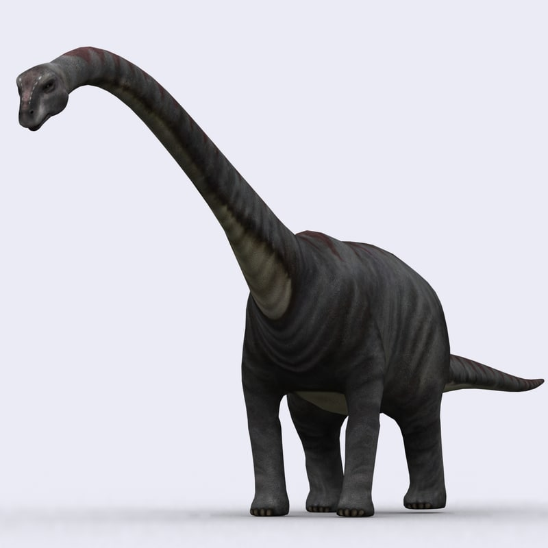 3ds max - animations dinosaurs
