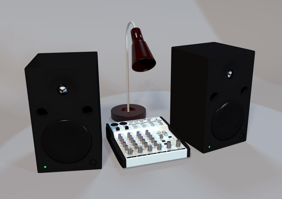 3d max studio setup