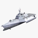 Littoral Combat Ship 3D models