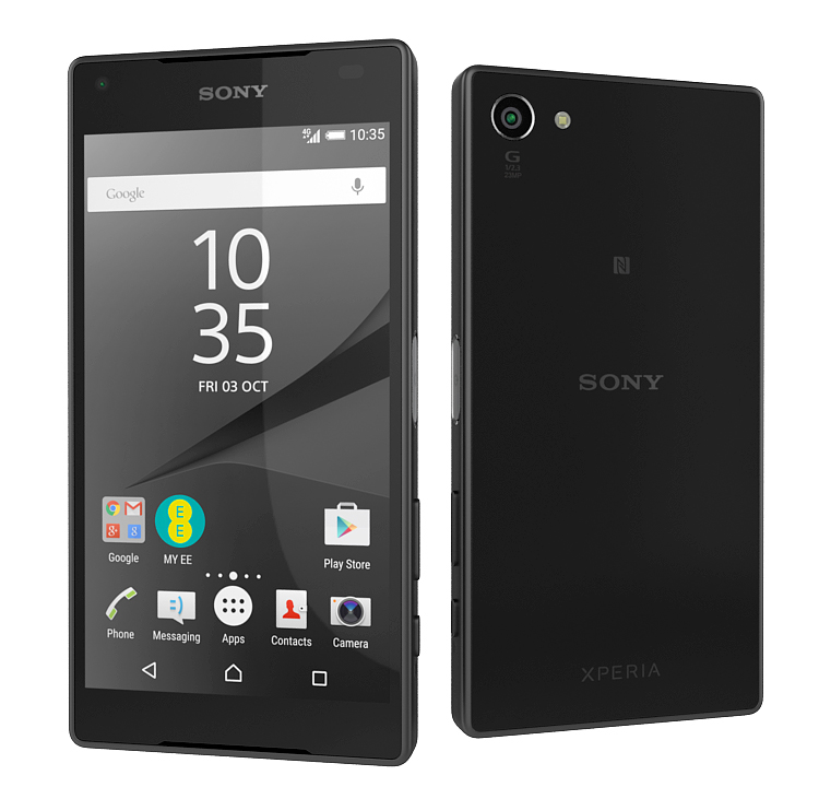 flagship smartphone sony xperia 3d model