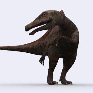 - spinosaurus 3d model