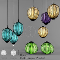 Aqua-Creations DippaTable Lamp or Pendant