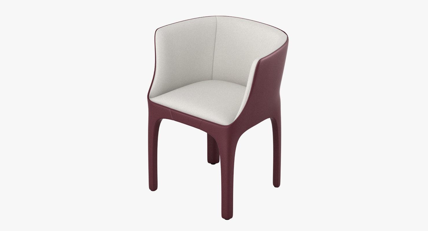 3d giorgetti diana chair