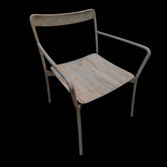 3d model mattiazzi branca chair