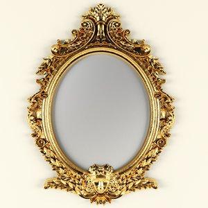 3dsmax oval mirror
