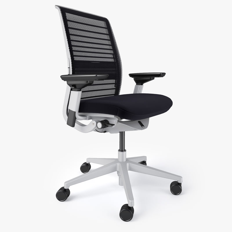 max steelcase think office chair. Black Bedroom Furniture Sets. Home Design Ideas