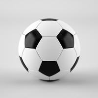 football soccer ball 3d max