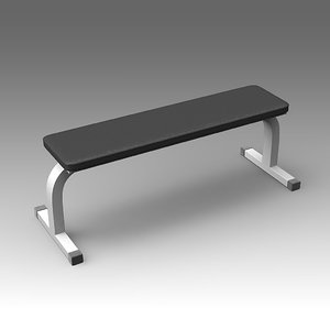 bench fitness fbx