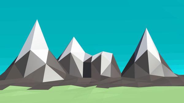 mountains blend free