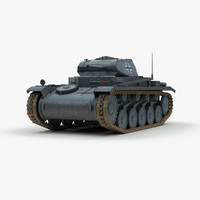 german ww2 panzer 2 tank max