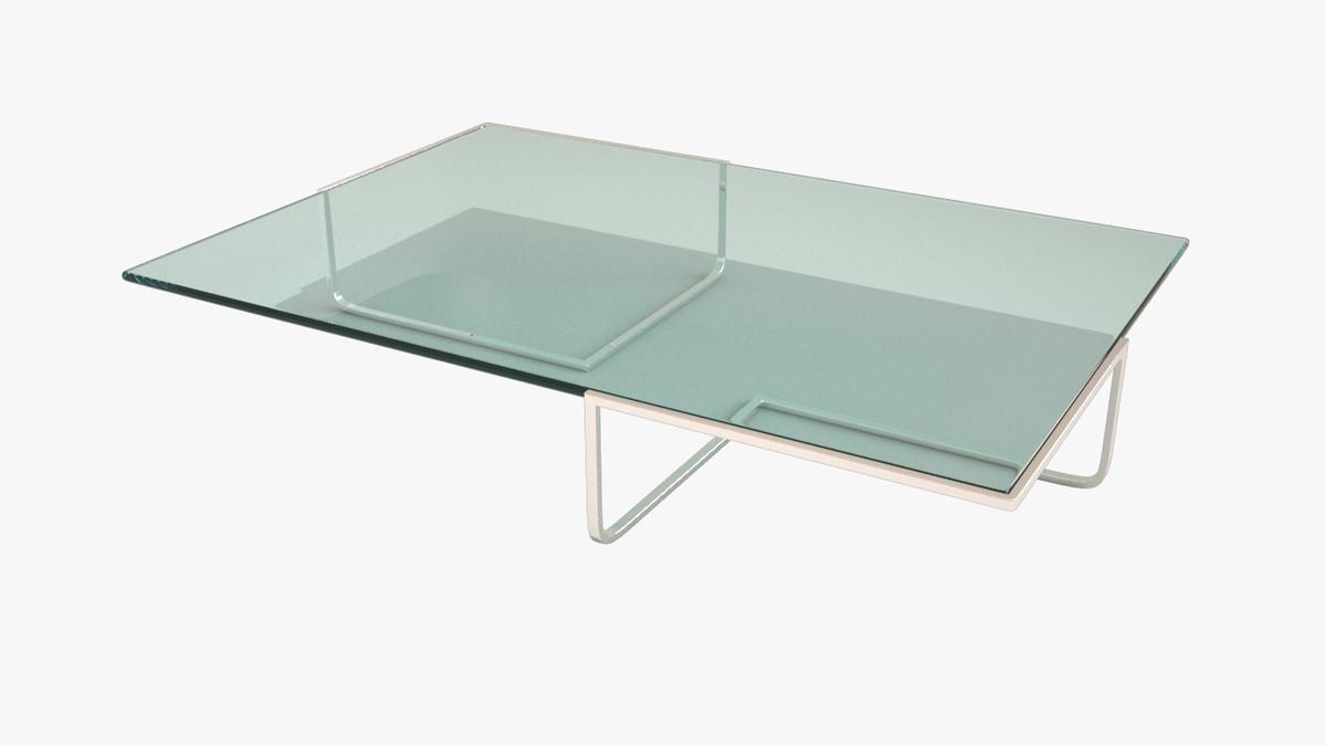 glass coffee table max