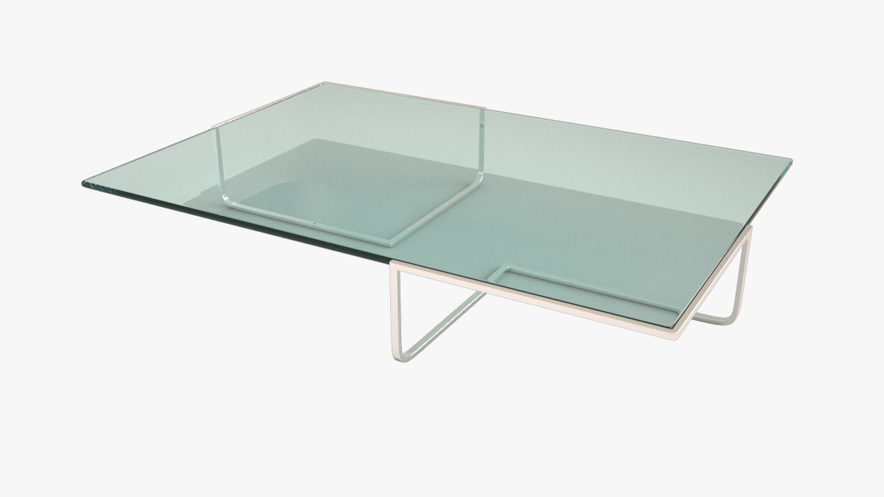 glass coffee table max
