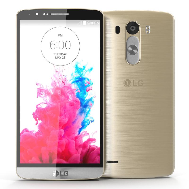 3d lg g3 gold