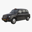 black cab 3D models