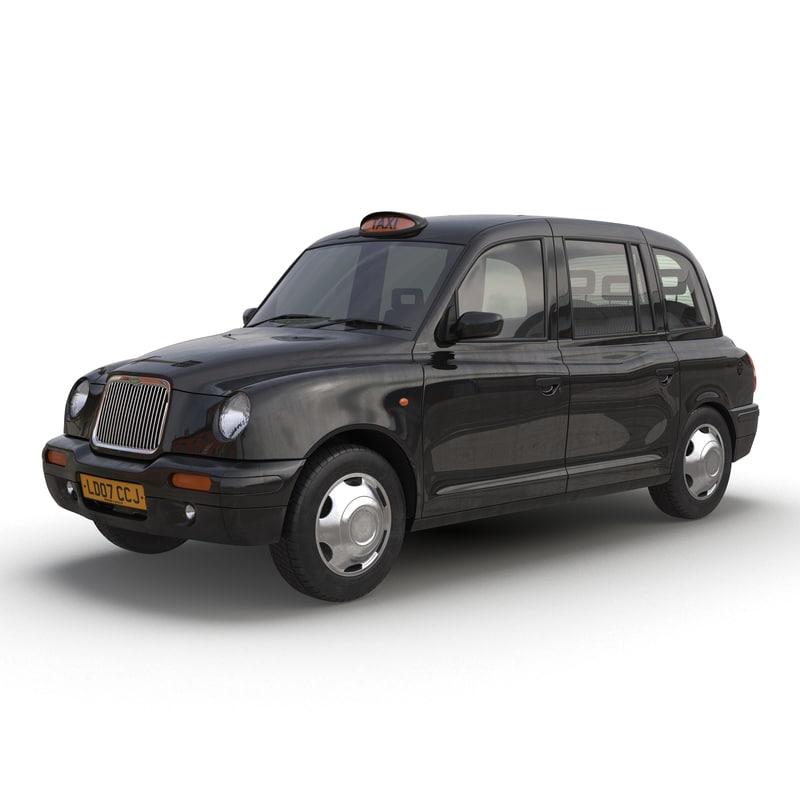 max london cab tx1