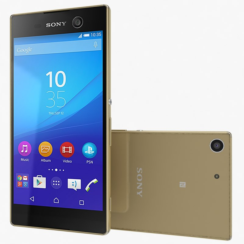 sony xperia m5 3d 3ds