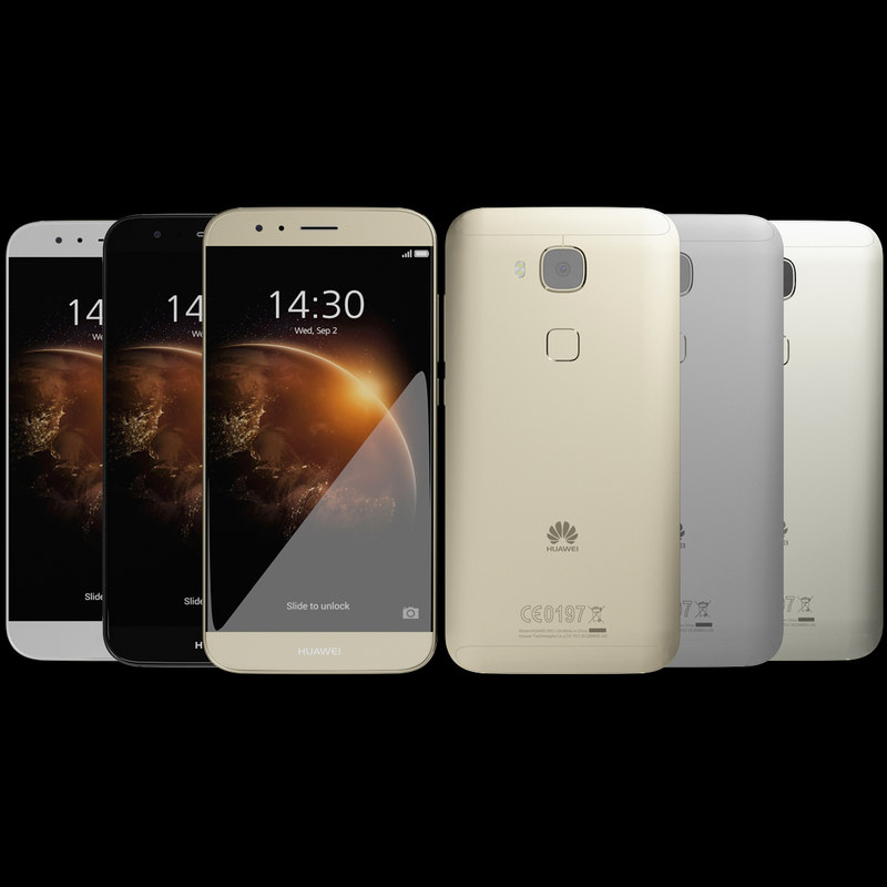 3d realistic huawei g8 colors