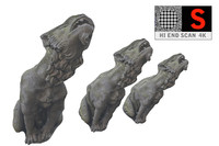 3d model of gothic gargoyle