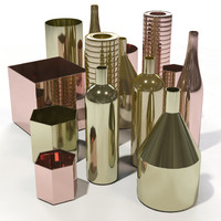 Ferm Living - Brass Vases