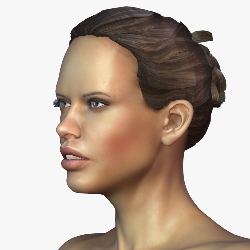 3d zbrush female andrea model