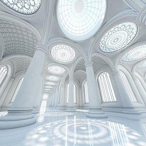 3d classic interior