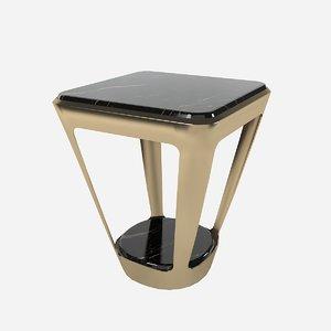 3d fendi pierre table model