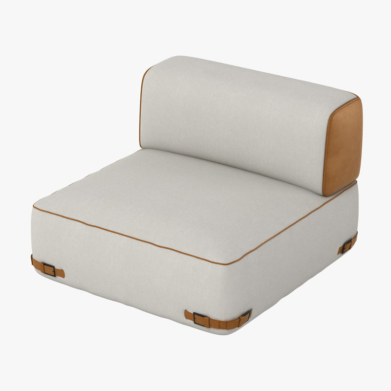 fendi soho sofa obj