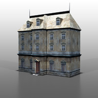 3d model house french