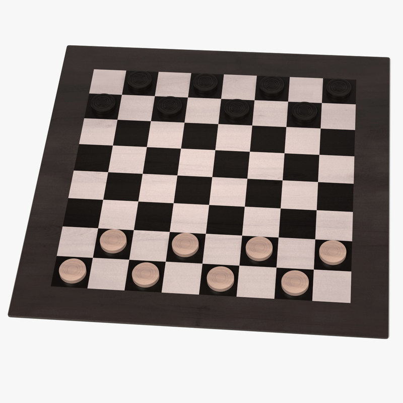 3d checkers
