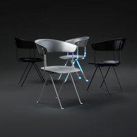 officina-chair 3d max