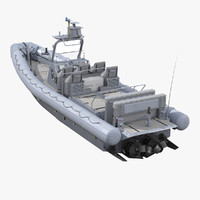 Naval Special Warfare Rigid Hull Inflatable Boat RHIB