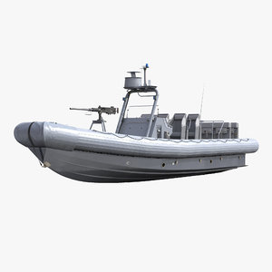 naval special warfare rigid 3d model