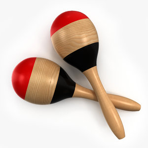 3ds maracas percussion