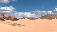 Yemen desert landscape