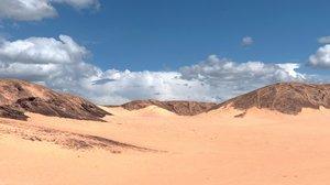 3d model area landscape yemen