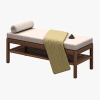 spa bed obj