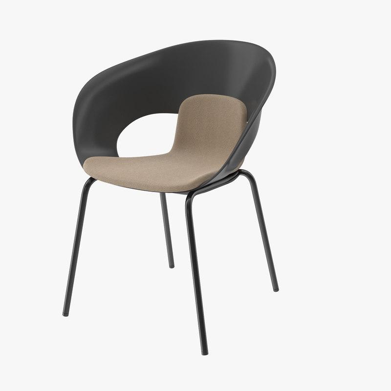 deli chair 3d model