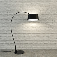 3d model floor lamp 001