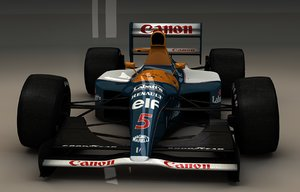 williams fw14b c4d