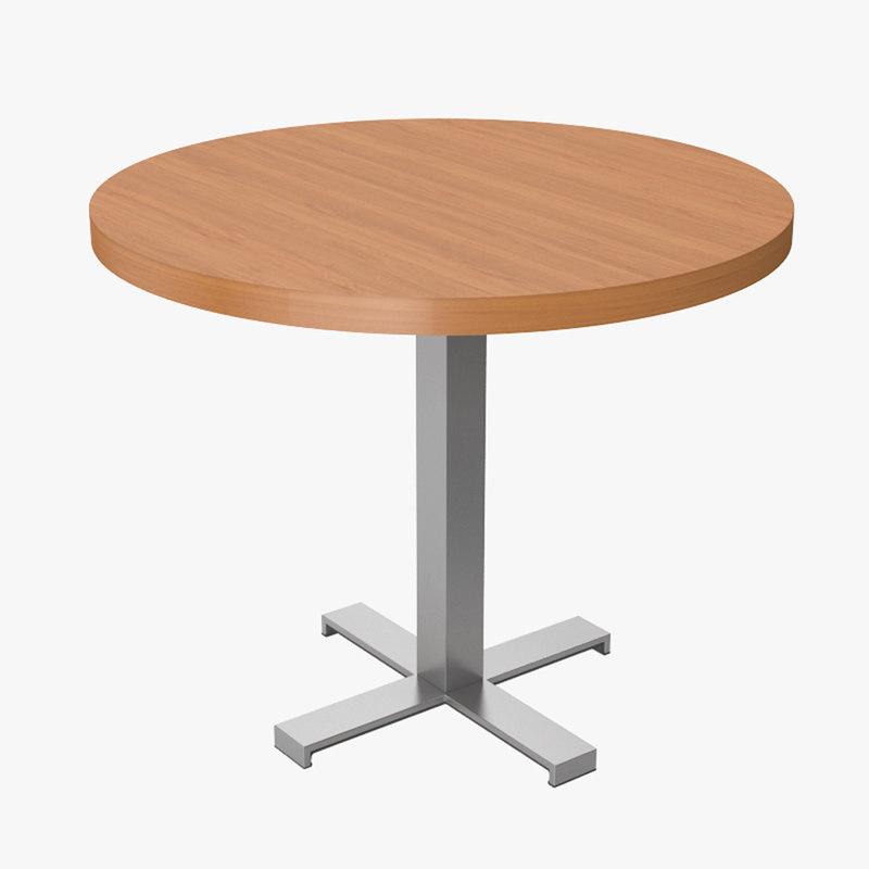 3d kinnarps pillar table obpm90