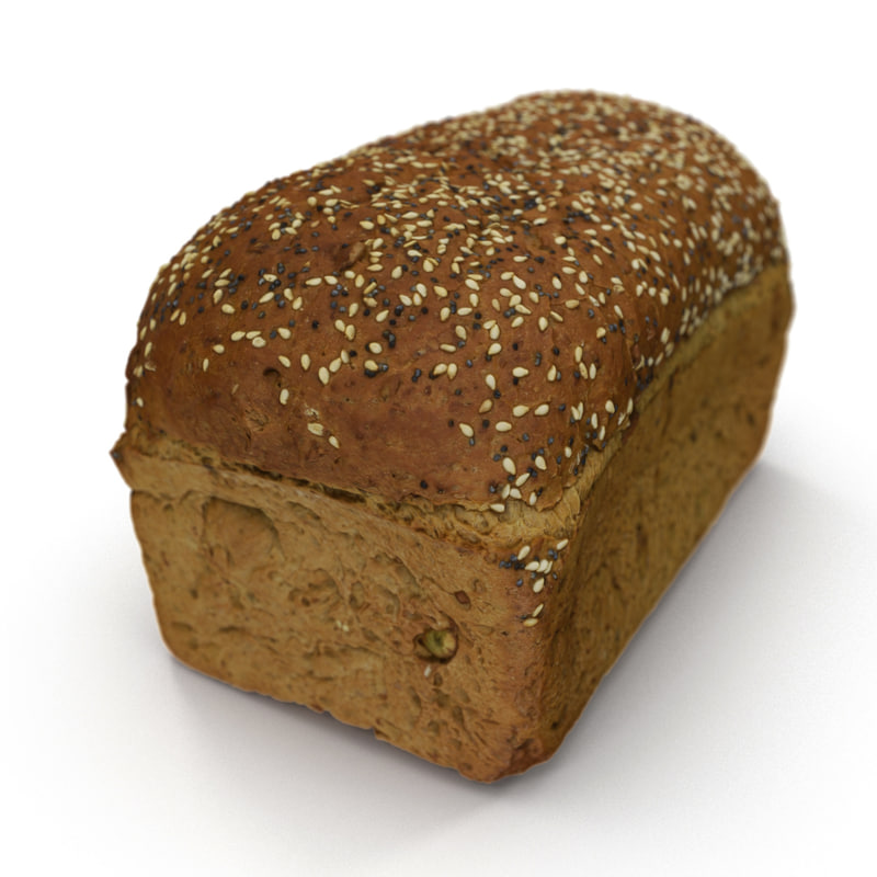 3d max seeded loaf