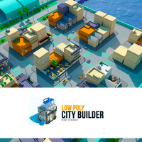 low poly city builder 1