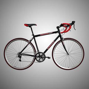 3d road bike model