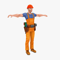 worker animated unit