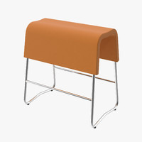 plinth chair 3d model