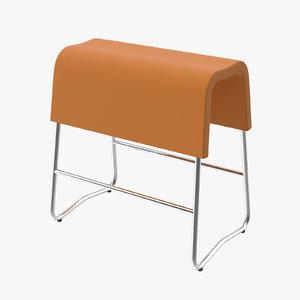 plinth chair 3d model