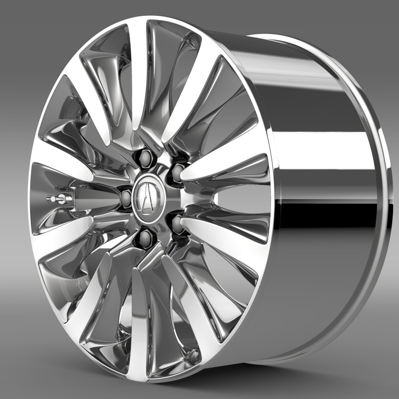 Acura Rlx Sport Rim 3d Model