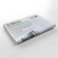 le monde economie newspaper 3d 3ds