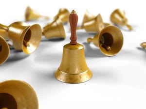 3dsmax hand bell