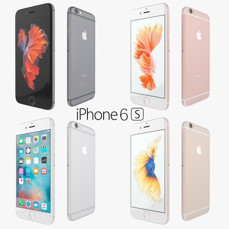 apple flagship iphone 6 3d 3ds